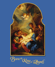 Born The King Of Angels Large Christmas Bulletins, 100  -