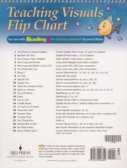 BJU Reading Grade 2 (Teaching Visuals) Flip Charts    -