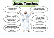 Jesus Teaches, Bulletin Board    -