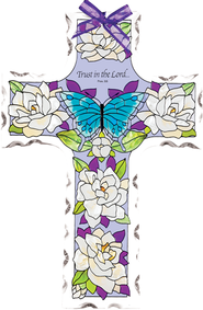 Trust in the Lord Cross Suncatcher         -