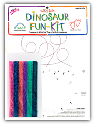 Wikki Stix Dinosaur Fun Kit  -