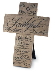 Faithful Wall Cross  -