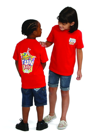 VBS 2013 Everywhere Fun Fair: Where God's World Comes Together - Child T-shirt Size Small (Size 6-8)  -