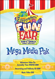 VBS 2013 Everywhere Fun Fair: Where God's World Comes Together - Mega Media Pak  -