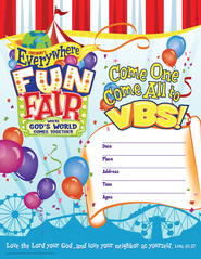 VBS 2013 Everywhere Fun Fair: Where God's World Comes Together - Small Promotional Poster  -