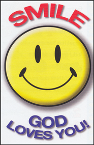 Smile God Loves You, 25 Tracts  -