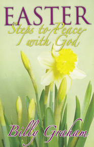 Easter Steps to Peace with God, 25 Tracts  -