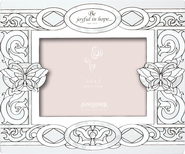 Be Joyful in Hope Glass Photo Frame  -