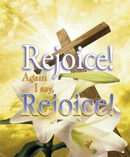 Rejoice! Again I Say Rejoice! Large Bulletins, 100  -
