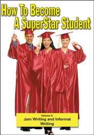 Superstar Student: Jam Writing and Informal Writing DVD  -
