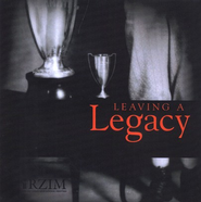 Leaving A Legacy, 2 CDs   -     By: Ravi Zacharias