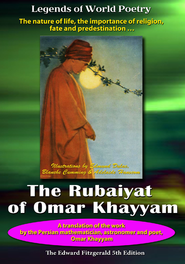 The Rubaiyat of Omar Khayyam - Translated by Edward Fitzgerald DVD (5th Edition)  -