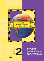 Geography Tutor: Types of Maps & Map Projections DVD  -