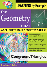Congruent Triangles DVD  -