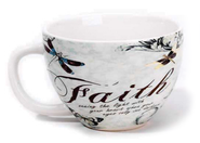 Faith, Seeing the Light with Your Heart Mug  -