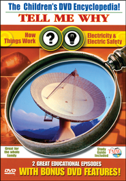 Tell Me Why: How Things Work & Electricity & Electric Safety DVD  -