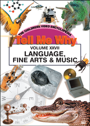 Tell Me Why: Language, Fine Arts & Music DVD  -