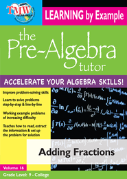 Adding Fractions DVD  -