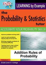 Addition Rules of Probability DVD  -