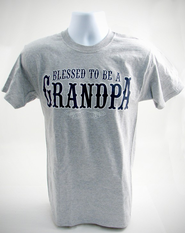Blessed to Be A Grandpa, X-Large Tee Shirt  -