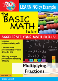 Basic Math Tutor: Multiplying Fractions DVD  -