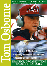 Tom Osborne: Practice, Organization & Game Strategies DVD  -