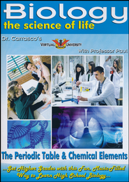 The Periodic Table & Chemical Elements / Bio Chemistry DVD  -