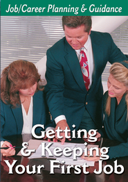 Career Planning Series: Getting & Keeping First Job DVD  -