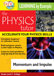 Physics Tutor: Momentum and Impulse DVD  -