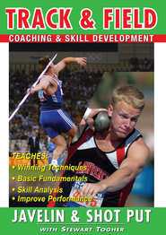 Track & Field: Javelin & Shot Put With Stewart Togher DVD  -