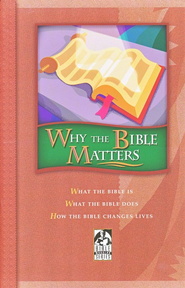BJU Why the Bible Matters, Student Text   -