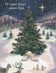 Let Us Adore Him Christmas Cards, Box of 18  -              By: Betty Whiteaker