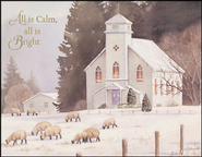 All is Calm Christmas Cards, Box of 18  -              By: Susan Bourdet