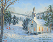Glory to God in the Highest Christmas Cards, Box of 18  -     By: Sam Timm