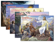 Bible Story Posters, pack of 5 (Different Daily Posters, each 17 x 22)  -