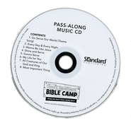 Sun/Stars Pass-Along Music CDs, set of 10   -