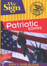 We Sign Patriotic Songs, DVD            -