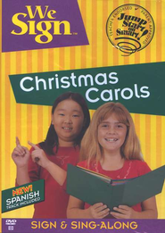 We Sign Christmas Carols, DVD    -