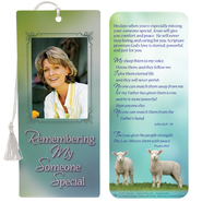 Remembering My Someone Special Photo Bookmark  -