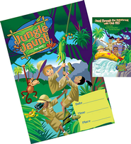 Jungle Jaunt Promotional Posters & Window Signs Set  -