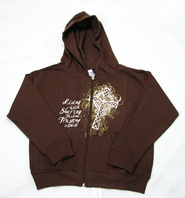 Trusting In Christ Zippered Hoodie,  Youth Small (6-8)  -