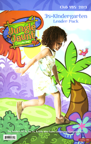 Jungle Jaunt 3s-Kindergarten Leader Pack  -