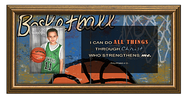 I Can Do All Things, Basketball Photo Frame  -