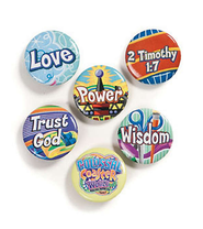 Collectable Daily Button, pack of 60   -