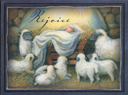 Rejoice Christmas Cards, Box of 16  -              By: Susan Winget
