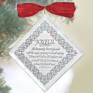 Joyful Mirror Ornament  -