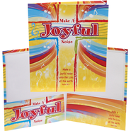 Make a Joyful Noise Pocket Folder  -