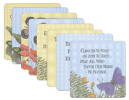 Butterfly Coasters, Set of 8  -
