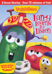 Larry Learns to Listen, VeggieTales DVD   -