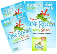 One Room Sunday School Kit Winter 2013-2014: Grow Your Faith by Leaps and Bounds  -